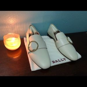 New Bally women's loafers shoes beautiful euro 38